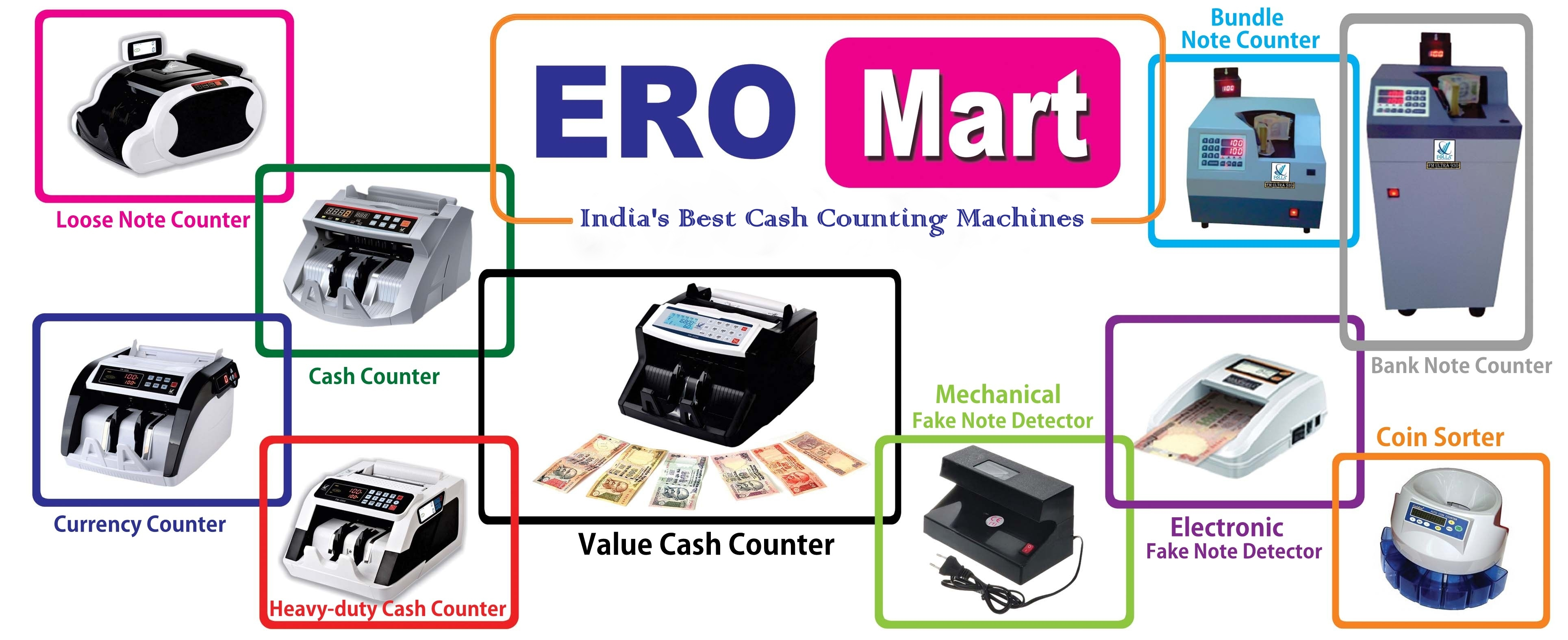 ERO MART banner - India's Best Cash Counting Machines in Tamil Nadu